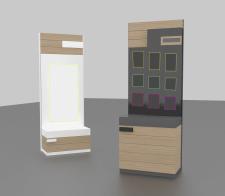 Дизайн стенда для магазина 2 - тестовое задание