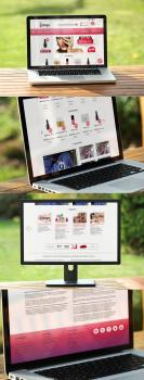 Дизайн сайта Bimbo