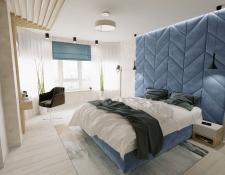 Интерьерная визуализация спальни