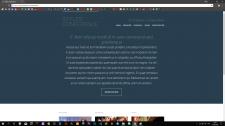 Верстка сайта на чистом HTML/CSS