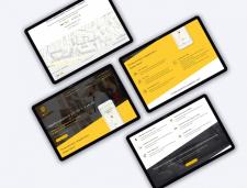 Лендинг для подключения к Яндекс.Такси в Казахстан