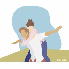 Пара влюбленных