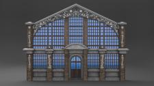 Фасад, моделирование, текстурирование, анимация