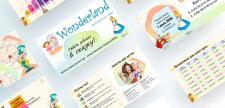 Презентация для частного детского сада Wonderland