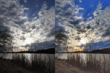 Цветокоррекция фото, выведение тёмных участков