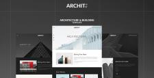 Archit - сайт студии архитектурного проектирования