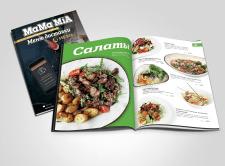 Меню для сети ресторанов и кафе МамаМиа
