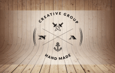 Логотип creative group Hand Made.