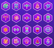 Иконки для игры, темы