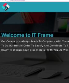 IT Frame website