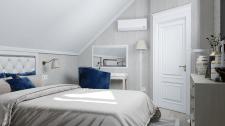 Элегантная спальня хозяйки в частном доме