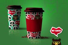 MY KAVA coffee cup