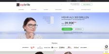 Поддержка интернет-магазина по продаже очков