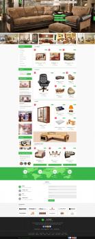 Дизайн сайта интернет-магазина мебели