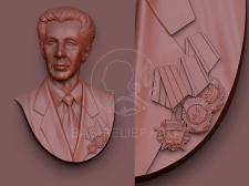 Моделирование барельефа для литья из бронзы