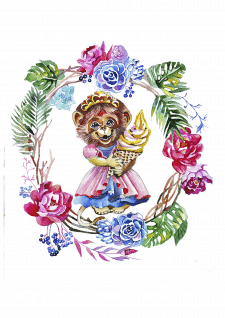 Ілюстрація до дитячого журналу