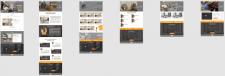 Виготовлення дизайну багатосторінкового сайту