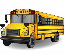 Школьный автобус. Вектор