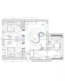 Проектировка квартиры, освещение, планировка 4