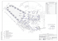 План прокладки осветительной сети