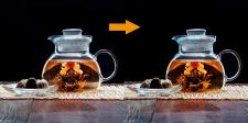художественная ретушь чая