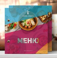 Разработка дизайна меню Небо