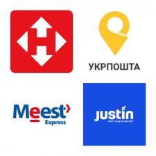 Службы доставки Нова пошта, Укрпочта, МистЭкспресс
