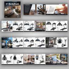дизайн и верстка каталога NordicTrack