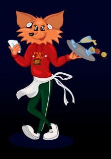 Иллюстрация Лисичка