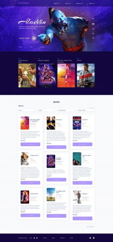 cinema website