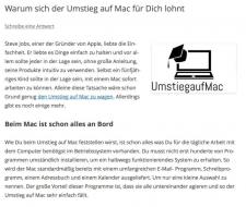 Warum sich der Umstieg auf Mac für Dich lohnt