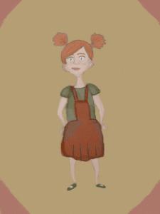 Летти Хемпсток - иллюстрация по книге
