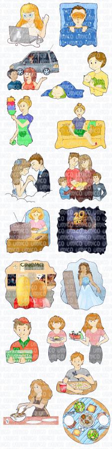 Иллюстрации для учебника Английского языка