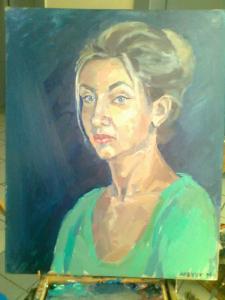 Портрет(масло)