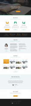 Freelance Landing Page