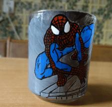 Розпис чашок в стилі вітраж