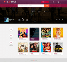 GaoBjao Online Music Player