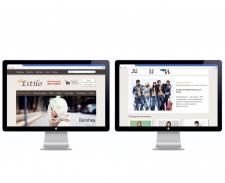 Дизайн интернет магазина одежды Estilo