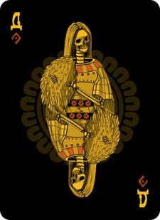 Spielkarten Indians- Skelette2