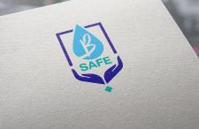 "Логотип для антисептического средства ""B Safe"""