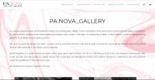 Сайт-портфолио арт-галереи