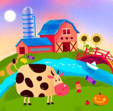 Иллюстрация ферма
