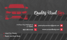 Business card • Quality Used Cars