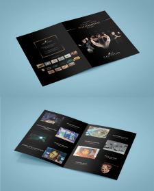 Дизайн листовки для GALITSYNA art group