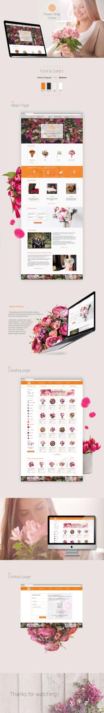 Интернет магазин цветочных букетов