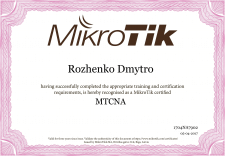MTCNA (MikroTik Certified NETWORK ASSOCIATE)