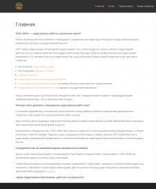 Текст на Главную сайта кадастровых услуг