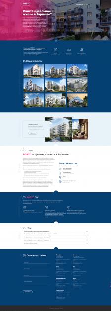 Сайт для польской компании по недвижимости