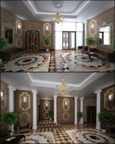 Дизайн вестибюля2