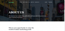 Multipage website on Bootstrap4